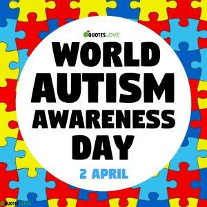 Raise the Flag for Autism – April 2 (March 31)